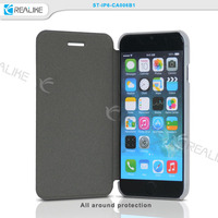 Wholesale manufacturer in china leather phone case for iphone 6/6s leather case cover