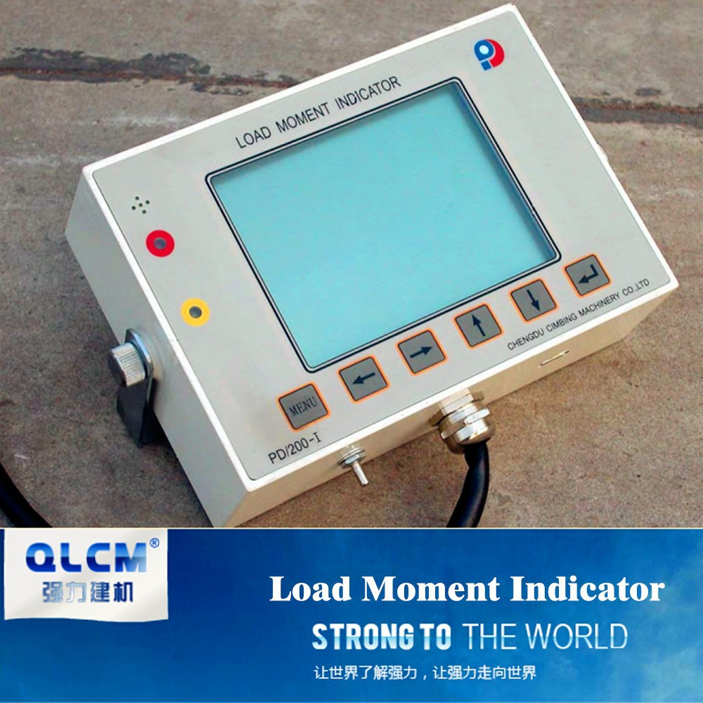 Load Moment Indicators For Cranes : Load moment indicator tower crane spare parts