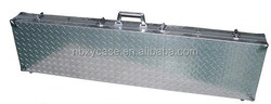 ningbo factory High Quality leather gun case/aluminum gun case/waterproof gun case