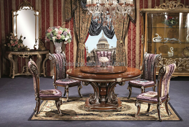 british style royal dining room set noble versailles furniture replica