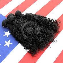 100% remy human hair weave virgin model brazilian hair jerry curl