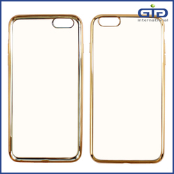 China Supplier Electronic TPU Cover For iPhone 6 Case Clear