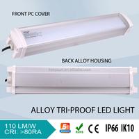 Tri Proof Water Proof Ip66 Led Tube Light Fixture ip66 triproof tube Tri-proof linear lamp