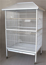 Large White Parrot Cage Parakeet Home Bird cage