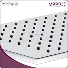 SS 304 Bathroom Shower Stainless Steel Top Square Rain Shower Heads Price
