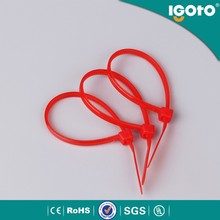 SGS CE UV UL approved coloured nylon cable ties