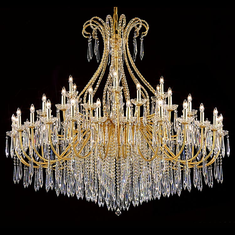 Zhongshan Luxury Big Used Modern Crystal Chandelier
