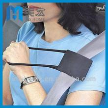 Car safety seat belt reacher helper