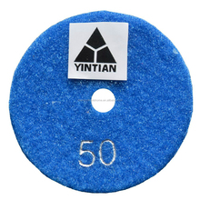 China good quality wet and dry use hand diamond polishing pads for different stone