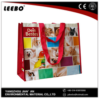customized Handle polyester foldable shopping bag