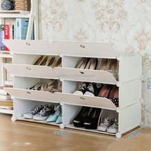 Adjustable pp white shoe organizers