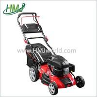 Diesel engine lawn mower