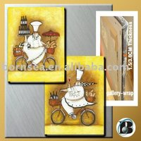 Cooker kitchen wall decorative oil painting