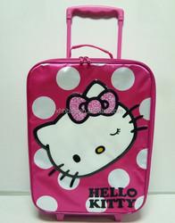 Trolley luggage bag of girl travel luggage