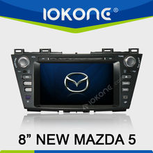 "8"" In Dash Special Car DVD Player Car Multimedia GPS Navigation System for New Mazda 5"