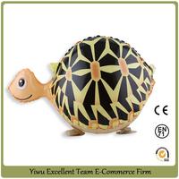 finished! come on ! walking tortoise balloon helium pet balloon