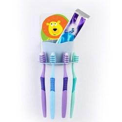 Cute Cartoon Family Toothpaste Holder Set