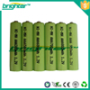aaa size rechargeable ni-mh battery packs 8.4v with 600mah batteries for electric bike kit
