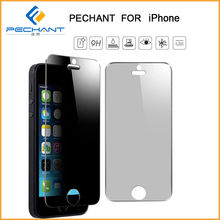 Use for LG Material 180 degree anti peeping tempered glass screen protector for iphone 6+ OEM/ODM