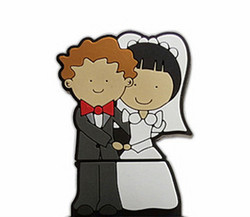 best wholesale price bride and groom usb flash drive
