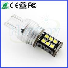 800lm Car t20 7443 w21/5w SMD 3528 LED car for turn light reverse lights parking car light 12V 2835smd 15 smd beads