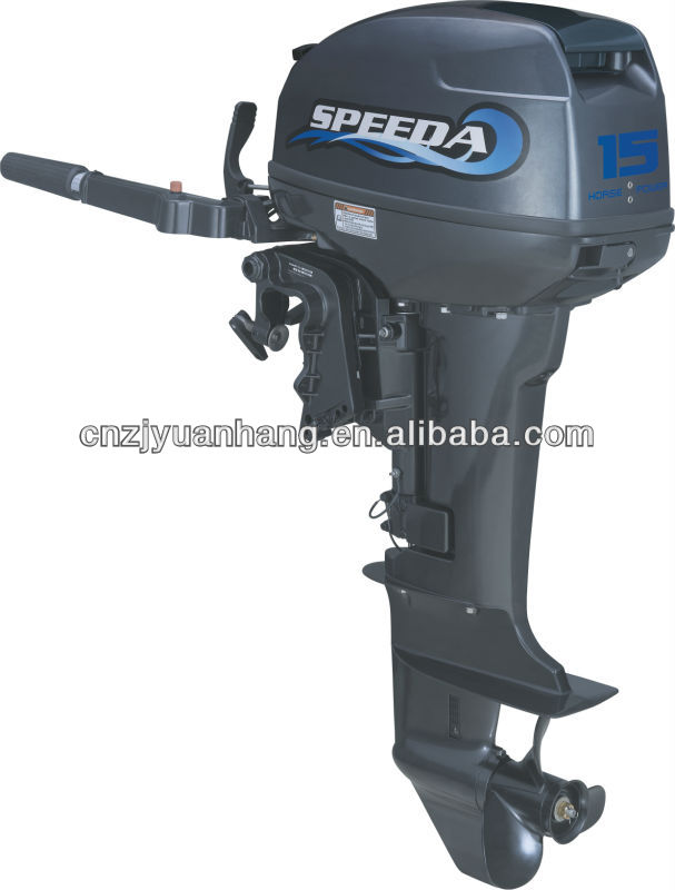 New Powerful Speeda 15 Hp 2 Stroke Fishing Boat Outboard