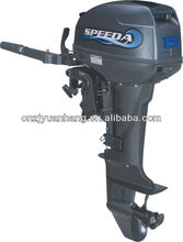 New powerful SPEEDA 15 hp 2-stroke fishing boat outboard motors for sale (CE Approved)