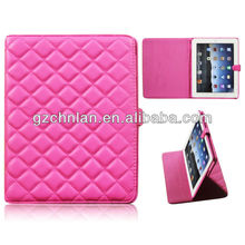 factory price and hot selling genuine leather case for ipad 3
