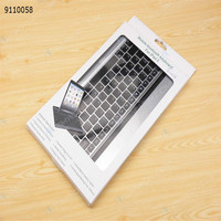 Ultra Slim Bluetooth Wireless Aluminum Keyboard Case Cover for iPad Air iPad 5 Sliver