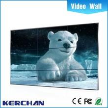 Ultra narrow bezel seamless Full HD vga dvi sdi input 8mm bezel 46 inch lcd video wall