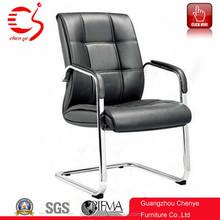 furniture malaysia singapore leather office furniture chairs without wheels with handrest