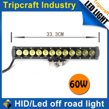 60W LED OFFROAD LIGHT China 4X4 ,Off road ,adjustable 5w/led light bar,tractor,UTV,ATV,Boat,led tractor working lights