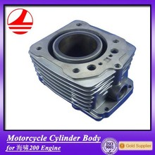 china ZS200CC cylinder body motorcycle parts pedal motorbike