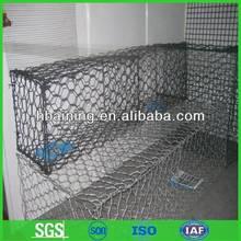 Galvanized Gabion Box Stone Cage Factory