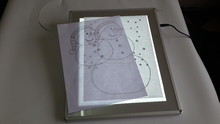 Children's art sets & introductory kits led light pad