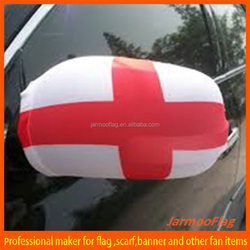 England car mirror cover sock flag