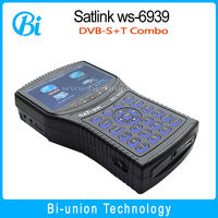 digital satellite finder for c band satlink ws-6939 satlink battery satellite meter
