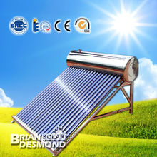 compacta a presión Heat Pipe calentador de agua solar
