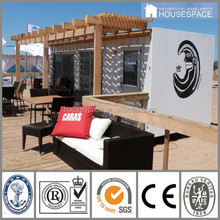 Movable Easy Installation Decorated Flat-pack storage container house