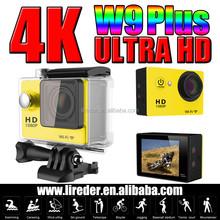 H9 wifi action camera with 1.5'' TFT display mini spy cameras wireless Cam W9 Plus