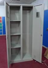China suupier popular design ikea storage two door cabinets metal locker/industrial metal armoire