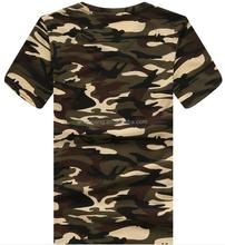 2015 fashion camouflage mens fashion t-shirt factory