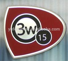 insignia de la fabricación de la máquina placa tejido