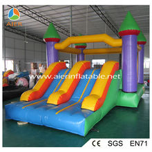 Kids Inflatable Bouncy games , inflatable Bouncy Castle with slide