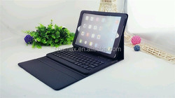 tablet keyboard case ,9.7inch tablet pc leather keyboard case for apple ipad air