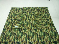 Camouflage Pattern Polyester TV Throw, Adults TV Blanket with handy Remote Pocket