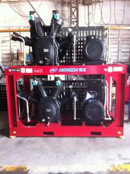 40bar High pressure oil free piston air compressor