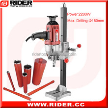 2200w 180mm portable drills drill stand guide