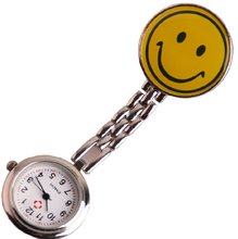 Luxury design punk wind smile face hand mechanical pocket watch DS-NJ093