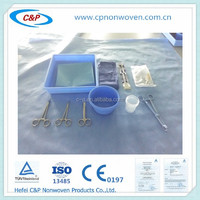 CE/ISO/FDA approved disposable SMS/PE/PP film surgical Asian Custom Kit